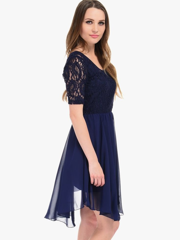 real gone Appealing Navy Party Dress Outfits