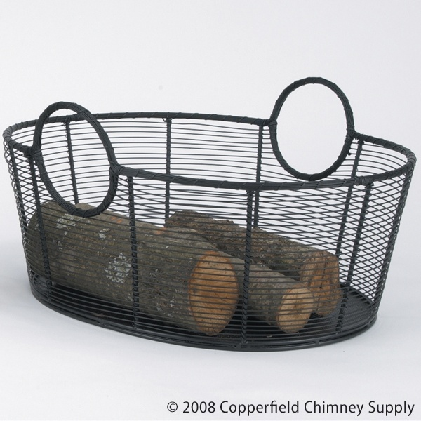 I have some old wire baskets.. Repurposed one as a wood holder next to the fireplace!