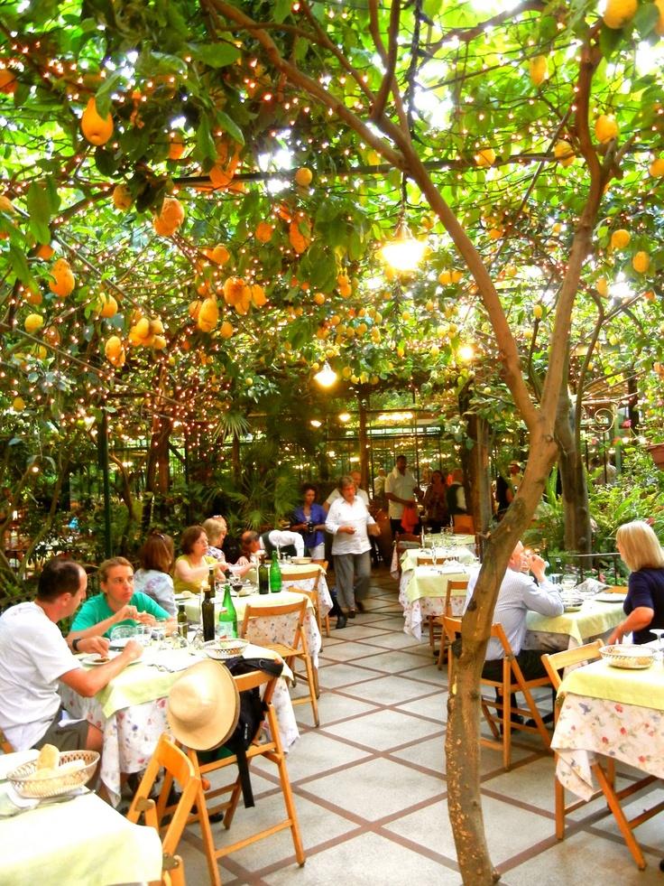O' Parruchiano restaurant Sorrento