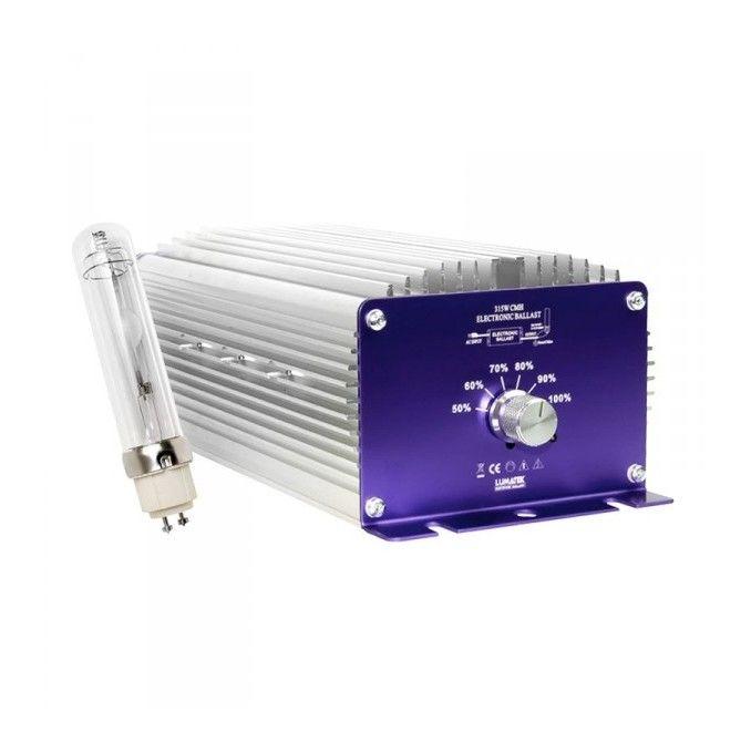 Kit Lumatek Lampe Adaptateur Ballast Electronique Cmh 315w Cdm