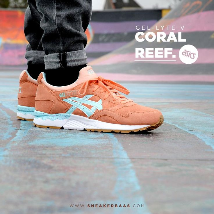 "#asics #gel #lyteV #coralreef #baasbovenbaas  Asics Gel Lyte V ""Coral Reef"" - Last sizes online, be quick! Priced at €124,95  For more info about your order please send an e-mail to webshop #sneakerbaas.com!"