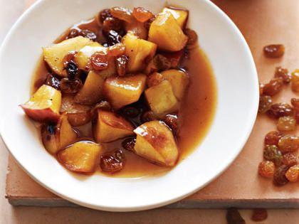 Chunky Apple and Raisin Sauce
