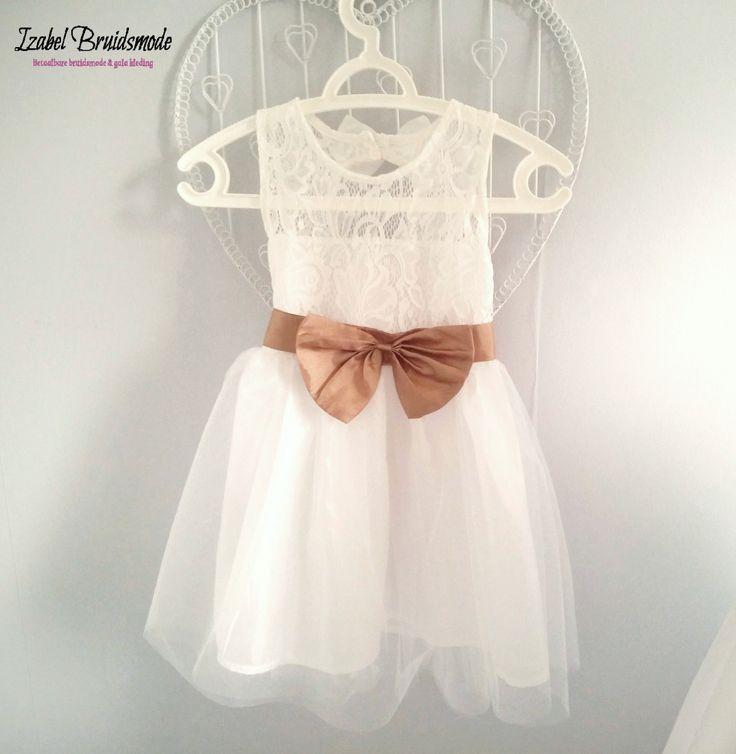 Bruidsmeisjes jurk met kant JK02