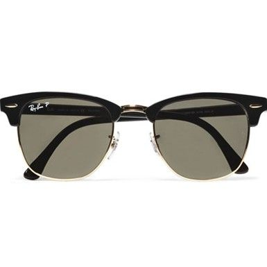 Best men's sunglasses: Ray-Ban clubmaster sunglasses - Mr Porter Style Picks - GQ Dresser - GQ.COM (UK)