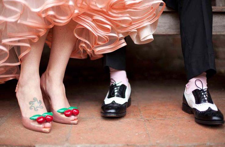 scarpe sposo sposa wedding matrimonio anni 50