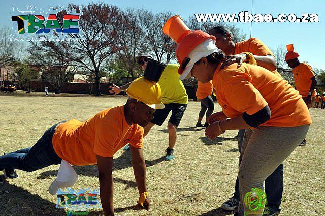 Fun team building exercise