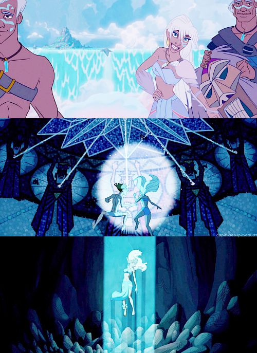 Welcome to Atlantis! Kida's personality is wonderful, and Milo is one of my favorite Disney guys. <3