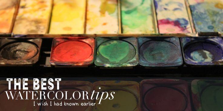 5 best watercolor tips