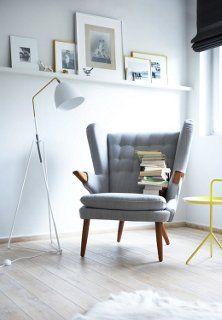 strak en modern gecombineerd met vintage look