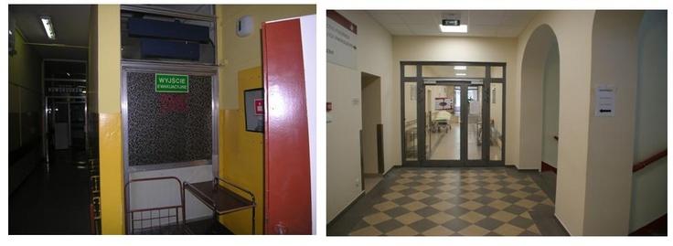 II piętro - strefa przeciwpożarowa - zakońćzenie remontu 2012 rok