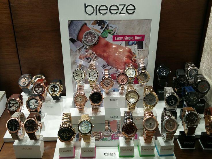 Super-cool BREEZE watches! Τώρα και νέα ανδρική συλλογή!   Τσαλδάρης στο Χαλάνδρι #watches #breeze