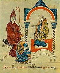 The Investiture Controversy was the most significant conflict between Church and state in medieval Europe. In the 11th and 12th centuries, a series of Popes challenged the authority of European monarchies over control of appointments, or investitures, of church officials such as bishops and abbots. The investiture controversy began as a power struggle between Pope Gregory VII and Henry IV, Holy Roman Emperor. The entire controversy was finally resolved by the Concordat of Worms in 1122.