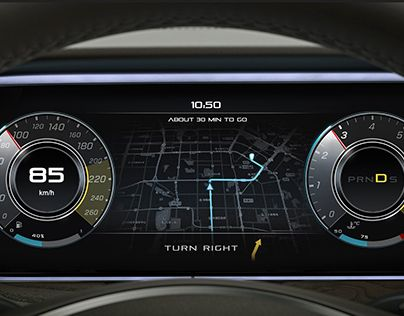 Check out new work on my behance portfolio mercedes for Mercedes benz dashboard lights not working