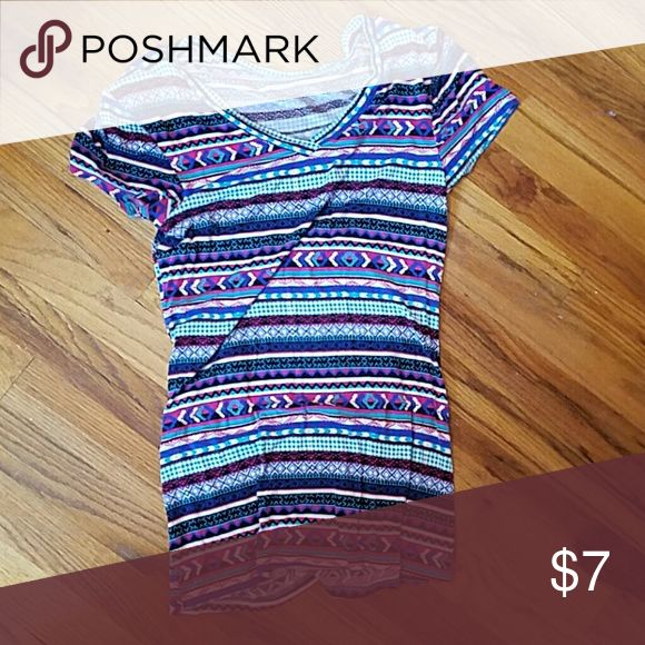 Aztec tee Aztec t-shirt size medium I believe no tag Tops Tees - Short Sleeve