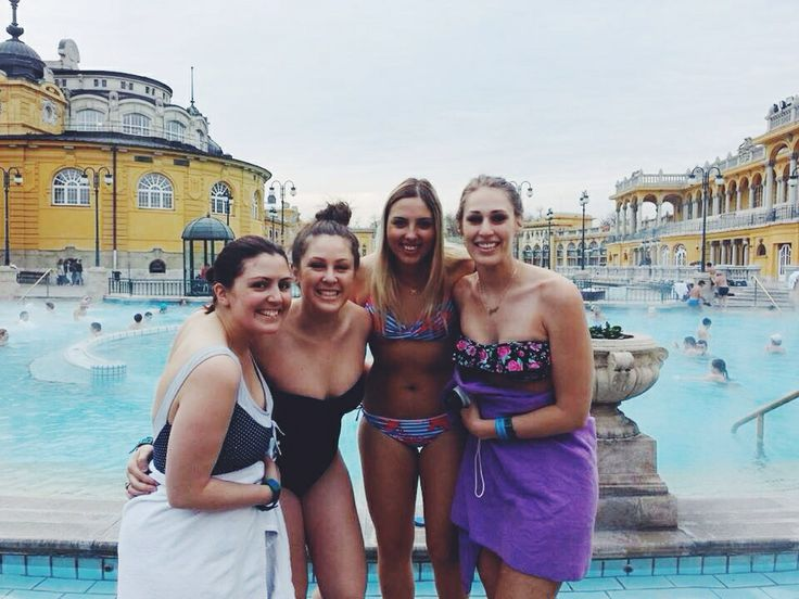 Budapest thermal pools