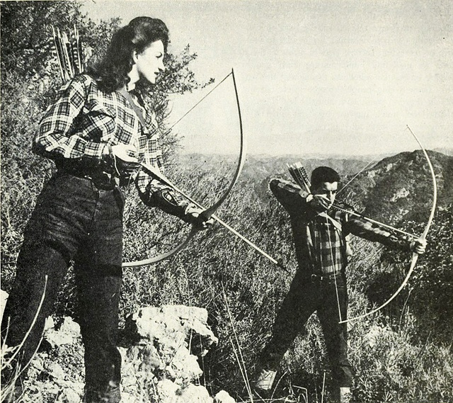 From A Vintage Ben Pearson Archery Ad 1947 Vintage