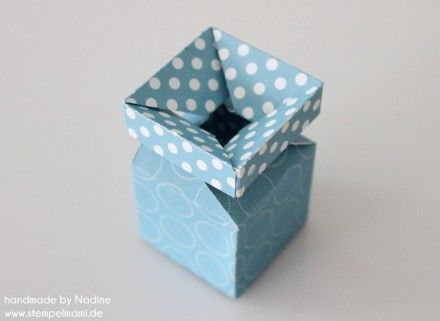 Stampin Up Anleitung Tutorial Magic Box Verpackung Goodie Give A 040