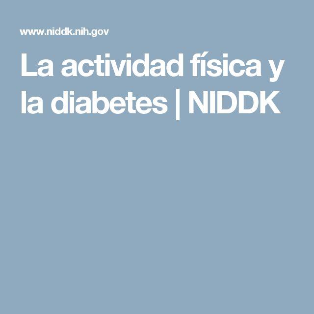 La actividad física y la diabetes | NIDDK