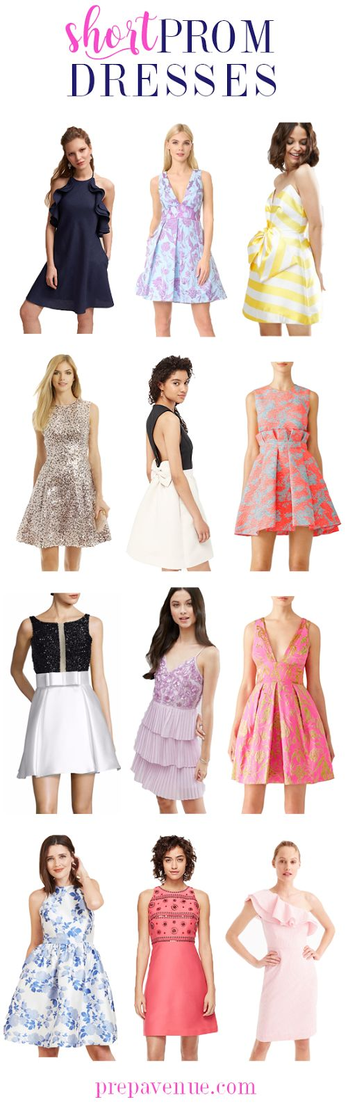 Preppy prom Dresses! // www.prepavenue.com