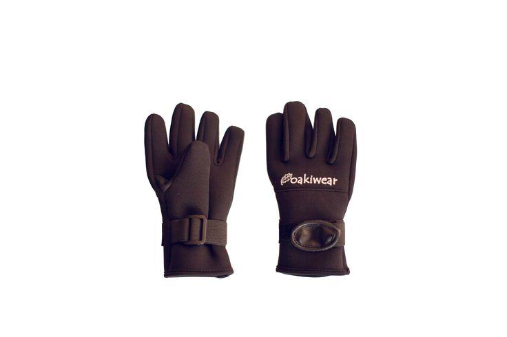 20 (30) Children's Neoprene Trail Gloves, Black | Oakiwear – Rain Gear, Kids rain suits, kids waders, kids rain gear, and kids rain coats