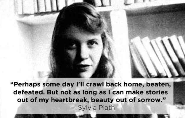 Sylvia plath quotes writing author