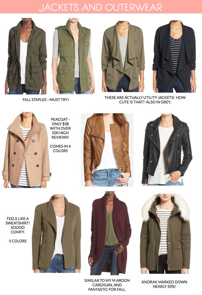 Putting Me Together Nordstrom Anniversary Sale 2016 Highlights - jackets and outerwear #wardrobeessentials #howtowear