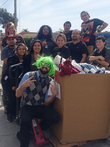 Employees from one of our Goodwill stores in Santa Ana donated for #Donate4Good! :) Thank you!