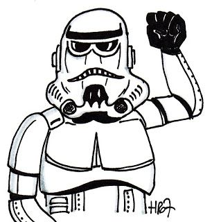 HUGO ROZENBERG CARTOONIST: Star Wars 40 ans vive l'empereur Napoléon ! Oooops...
