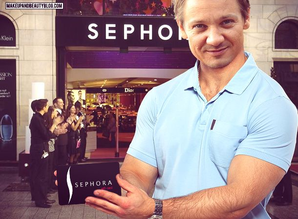 A Makeup and Beauty Blog Giveaway! Ouuu don't mind if I do Jerms Renner (who also loves makeup) :D