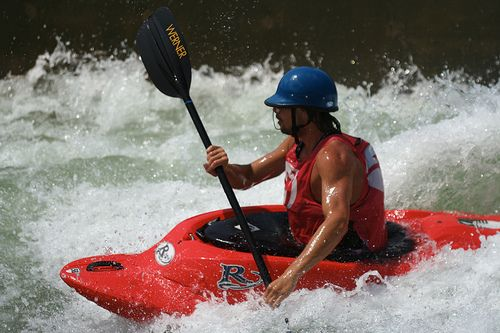 How to Learn to Whitewater Kayak in 8 Steps. The most basic list ever