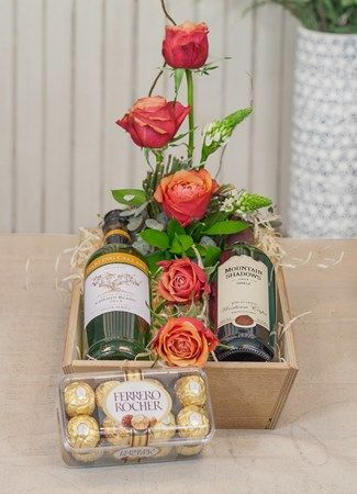 Flowers, Wine and Chocolate