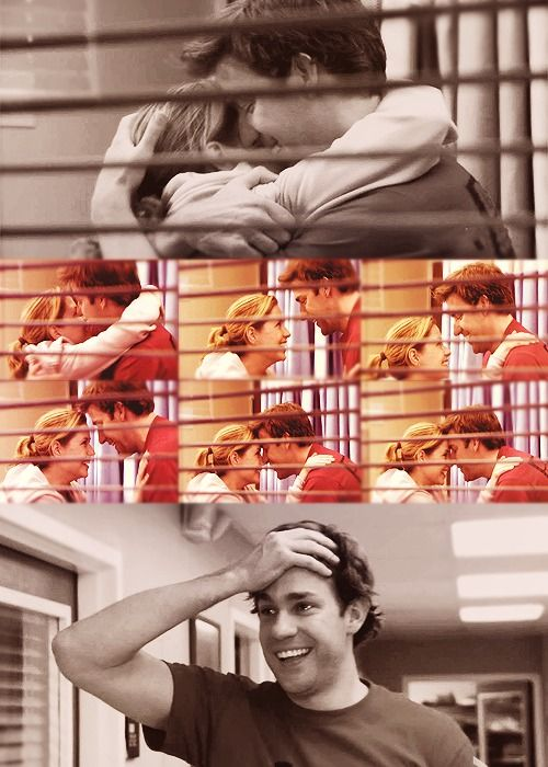 Jim and Pam <3