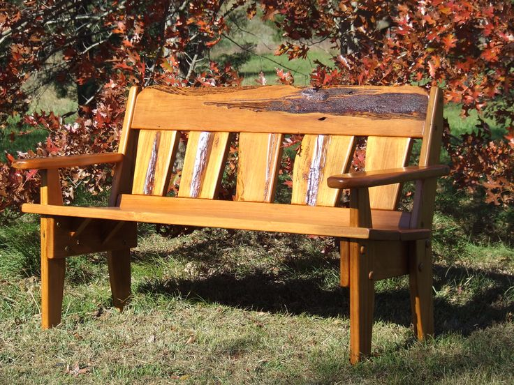 Outdoor Bench Chair By Christoper Bennell. 100% Australian Made from Australian Hardwood. 02 4632 7699