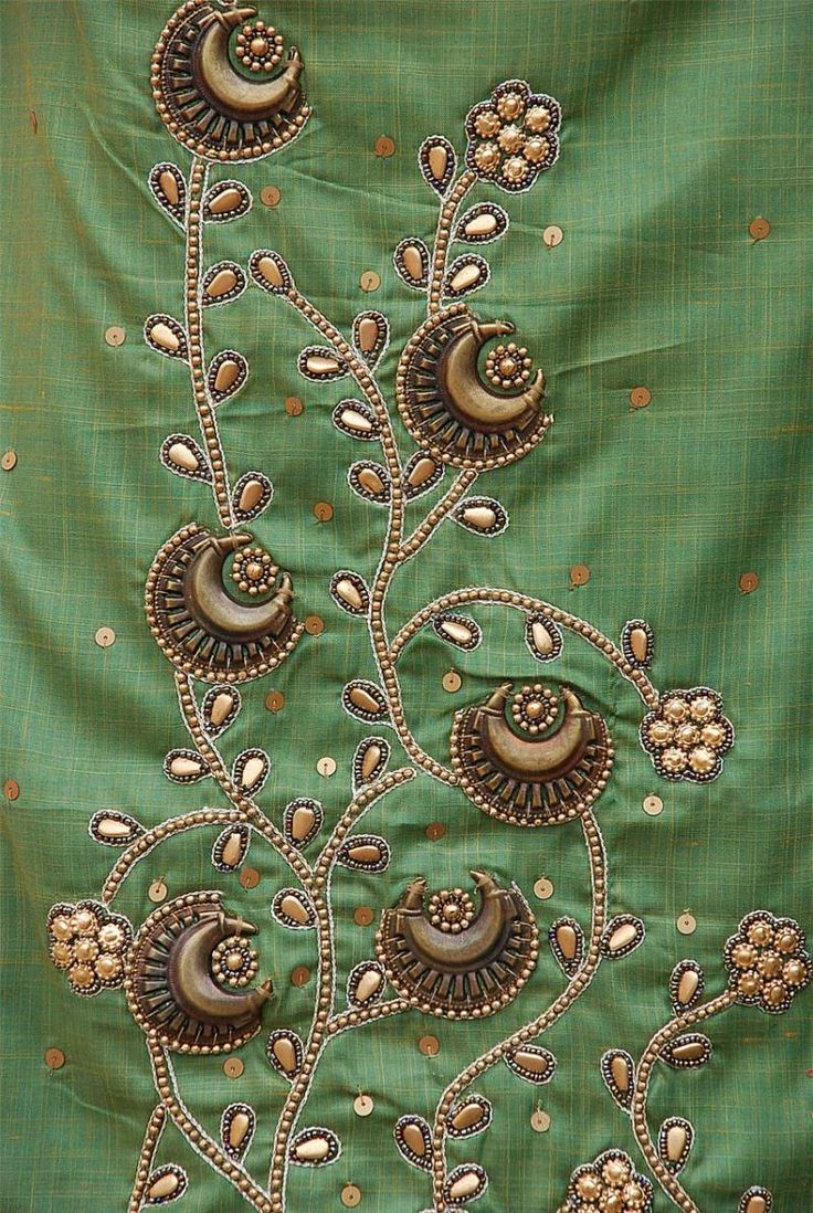 Embroidery Designs » HAND EMBROIDERY BEADING