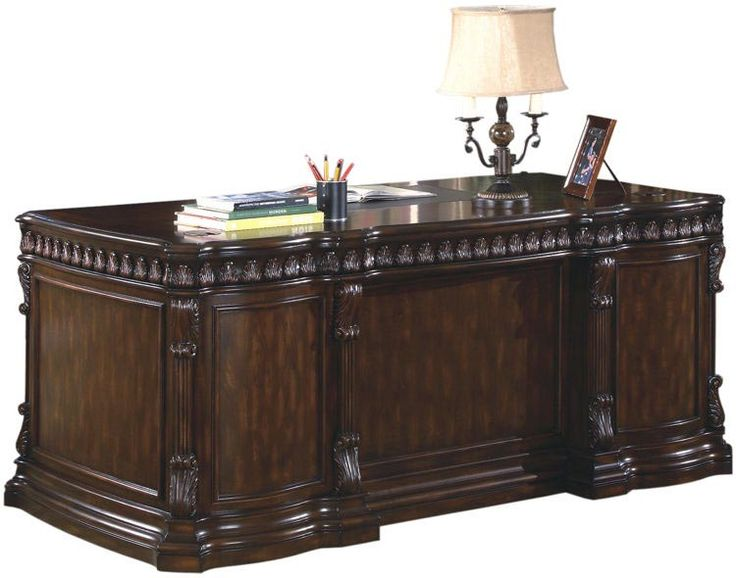double office desk. coaster tucker double pedestal desk in rich brown 800800 office p