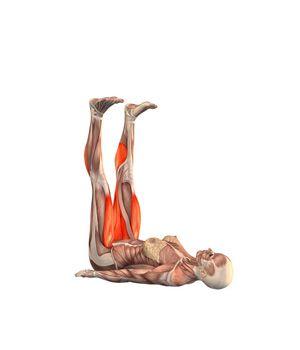 #URDHVA PRASARITE PADASANA Upward extended feet pose | YOGA.com