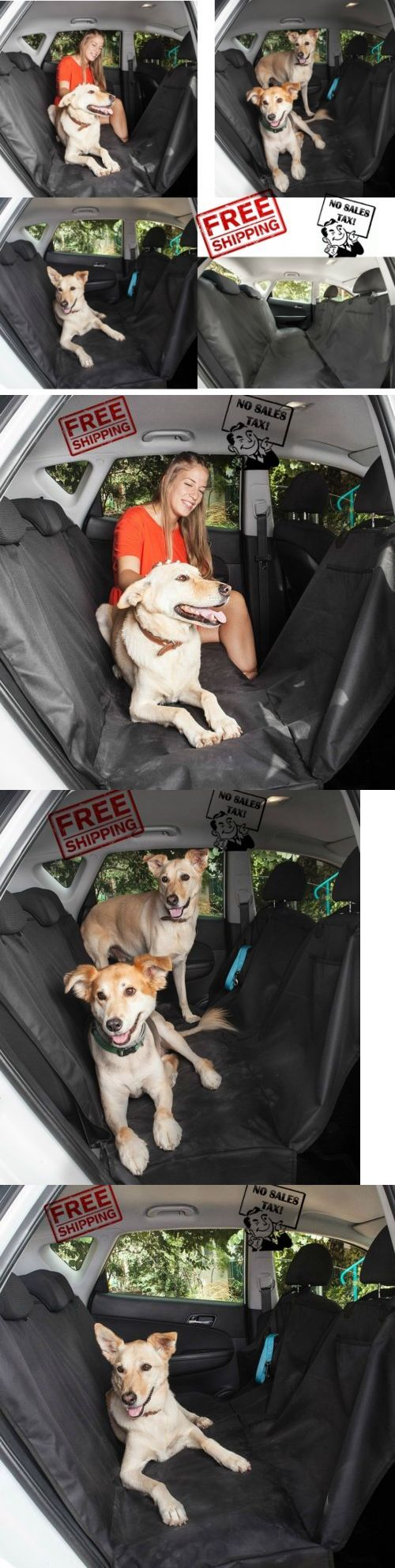 Car Seat Covers 117426: Luxury Pet Car Suv Van Back Rear Bench Seat Cover Waterproof Hammock For Dog Cat -> BUY IT NOW ONLY: $167.92 on eBay!