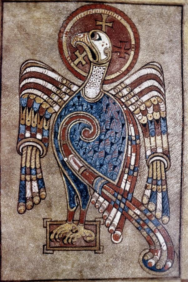Book Of Kells: St John Painting