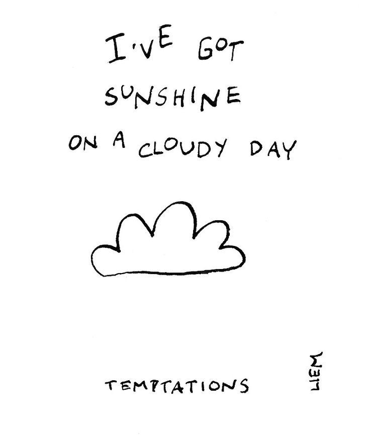 The Temptations. My Girl. 365 illustrated lyrics project, Brigitte Liem.