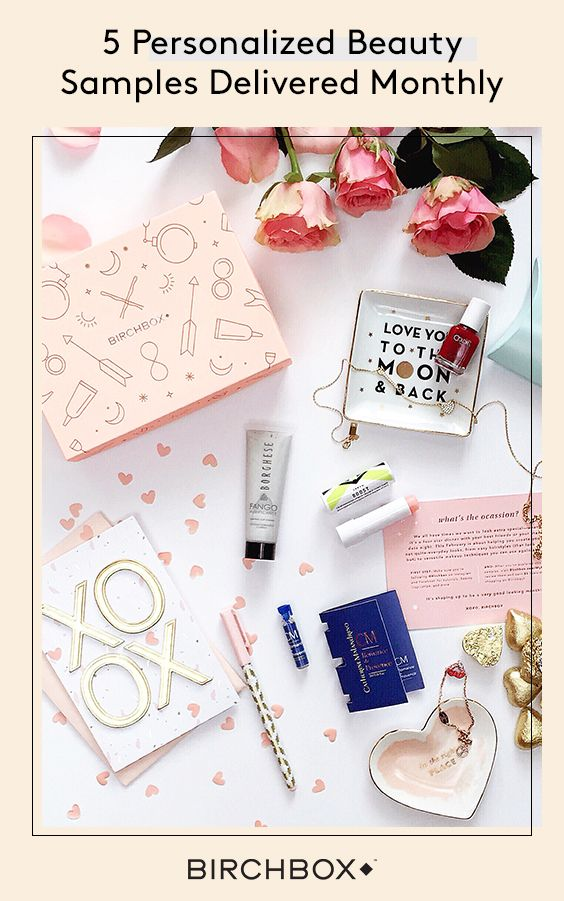Birchbox is the easiest way to discover beauty products you'll love. Each month we'll send you 5 personalized samples—think haircare, makeup, skincare, and fragrance. Learn how to use them with easy-to-follow tips and tutorials, then when you find a product you love, buy the full-size version from us (and earn Points to spend while you shop!). Sign up now for just $10/month.