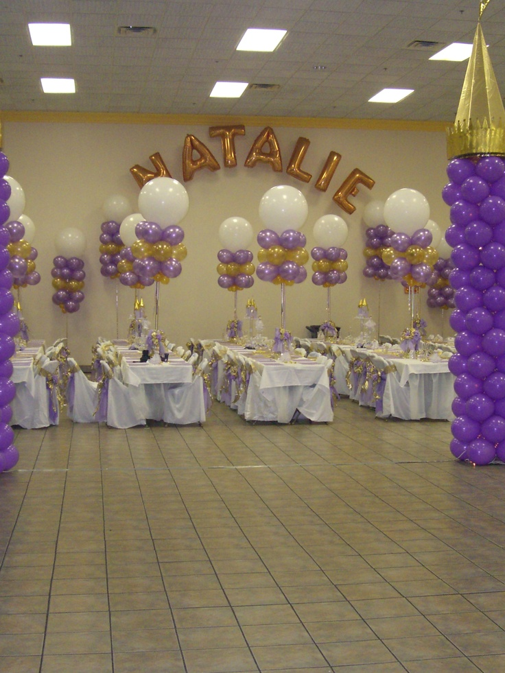 40 best images about decoracion de salon de fiesta on for Balloon decoration ideas for quinceaneras