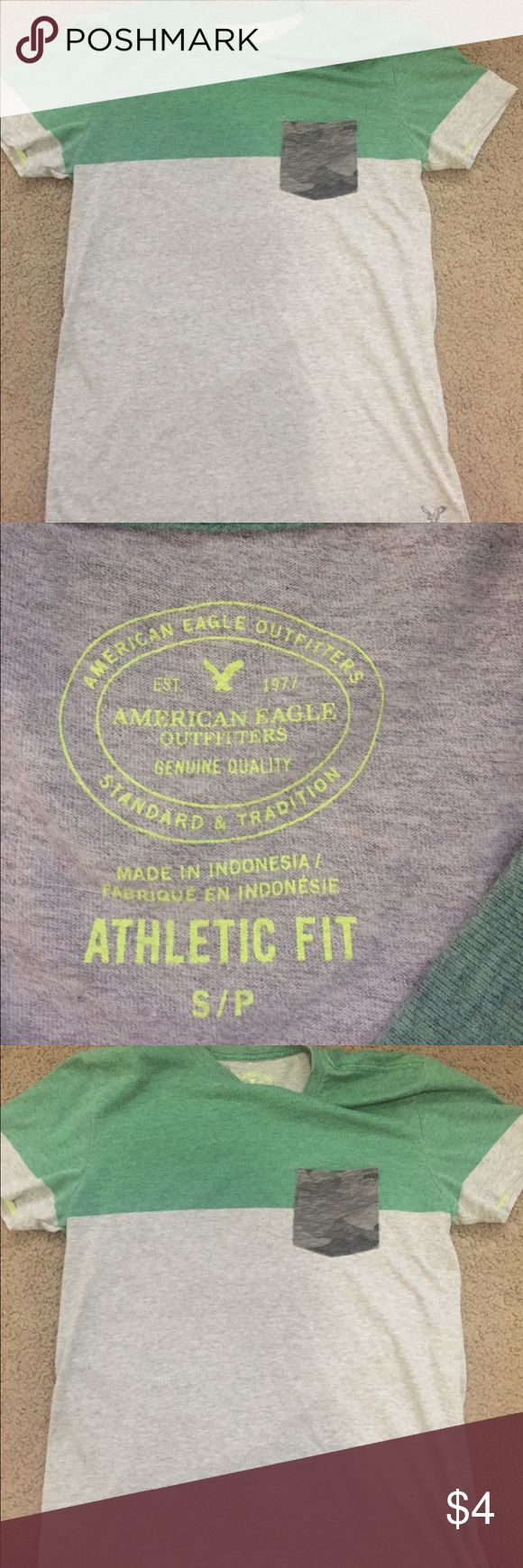 American Eagle shirt American Eagle men's shirt size small smoke and pet free home American Eagle Outfitters Shirts Tees - Short Sleeve