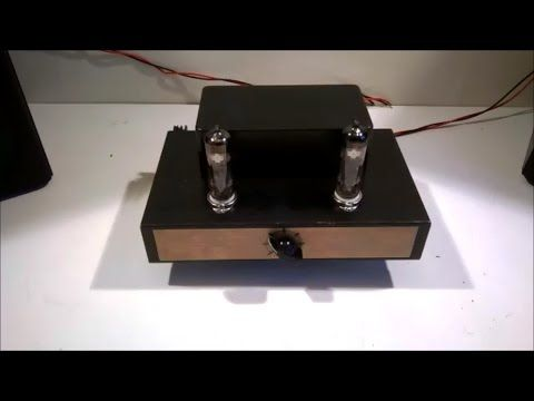 Surprisingly Good Yet Easy Tube (Valve) Amplifier Build - PCL82(16A8)
