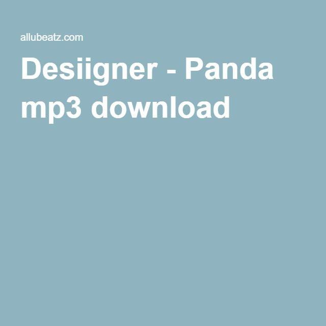 Desiigner - Panda mp3 download