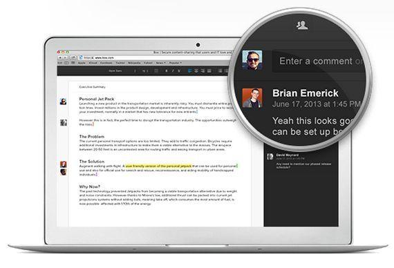 Box introduce Notes, para crear contenidos con texto y distintos tipos de media, directamente desde el servicio