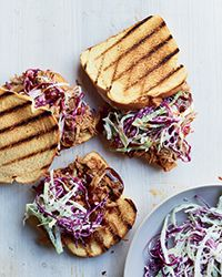 Pulled Pork Sandwiches with Homemade Barbecue Sauce and Habanero Vinegar Recipe on Food & Wine