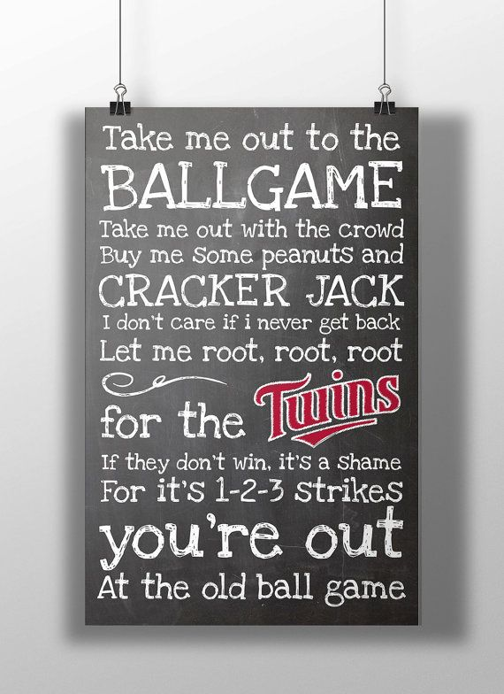 Take Me Out To The Ball Game is sung by every baseball fan during the 7th inning stretch. Show everyone the home team you root for are the