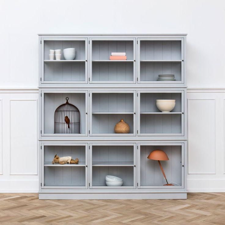 Seaside Svart Vitrinskåp | Oliver Furniture | Länna Möbler | Handla online