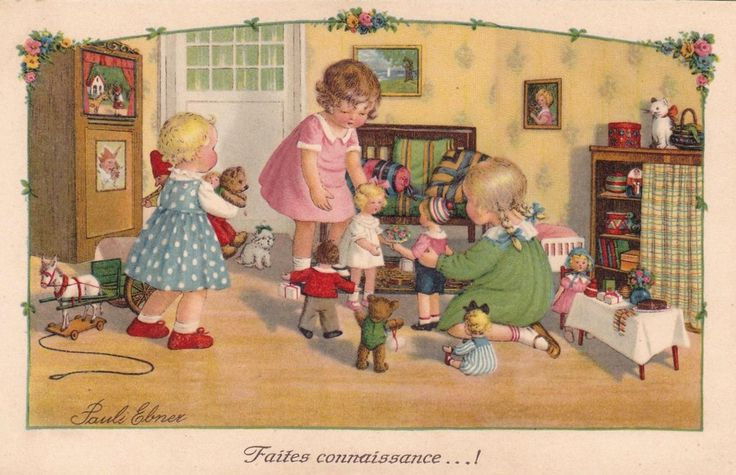 Pauli Ebner (1873-1949) — Old Post Cards (900x581)