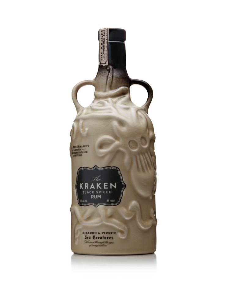 Kraken Ceramic Limited Edition Black Spiced Rum 70 cl: Amazon.co.uk: Beer, Wine & Spirits